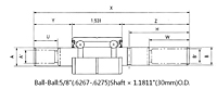 Water-Pump-Bearings-for-Automobile